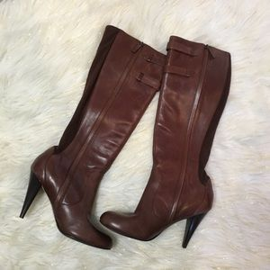 Cole haan Nike air brown knee high boots 😍